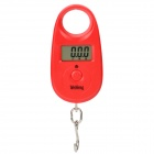 "1.1"" LCD Mini Portable Electronic Handheld Hanging Digital Scale - Red (1 x CR2032)"