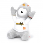 2012 London Summer Olympics Mascot Wenlock Plush Doll Toy - Grey + White