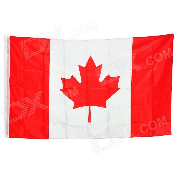 Canada National Flag - Red + White (150 x 90cm)