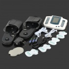 Electronic Pulse Massager Therapy Set - White + Black (3*AA)