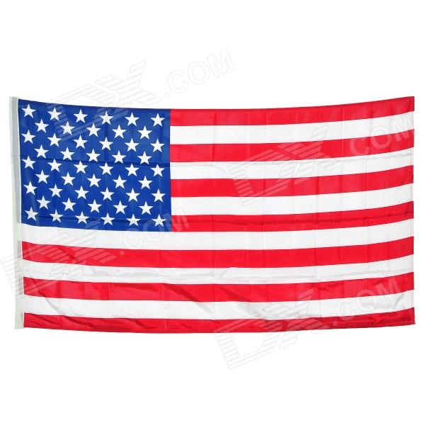 United States National Flag - White + Red + Blue (150 x 90cm) палатка onlitop призма 150 стандарт в95т1 white blue 1176215