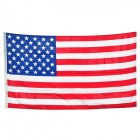 United States National Flag - White + Red + Blue (150 x 90cm)