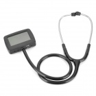 "Multifunction 2.7"" LCD Digital Visual Stethoscope - Black"