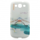 BASEUS Utopia Series Protective TPU Back Case w/ Screen Protector for Samsung i9300 - Venice