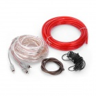 PKG66 Professional Speaker MMATS Cable Amplifier Installation Wiring Kit - Red