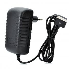 AC Power Adapter Charger for Asus Pad TF201/TF101 - Black (EU Plug)