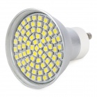 GU10 4.35W 360 ~ 430lm 6000 ~ 6500K 72-LED White Light Bulb (85 ~ 265V)