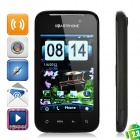"HG21 Android 2.3 GSM Bar Phone w/ 3.2"" Resistive, Quad-Band, TV, Wi-Fi and Dual-SIM - Black"