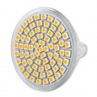 MR16 GU5.3 4.35W 3000~3500K 360~430LM 72-LED Warm White Light Bulb (12V)