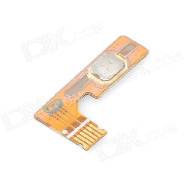 Genuine Power On / Off Button Flex Cable for Samsung i9250 - Golden