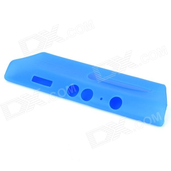 Protective Silicone Case Cover for Xbox 360 Kinect - Blue protective silicone cover case for xbox 360 controller yellow blue