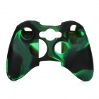 Silicone Cover Case for Xbox 360 Controller-Camouflage - Dark Green