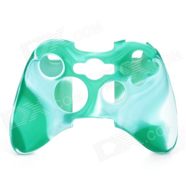 Protective Silicone Cover Case for Xbox 360 Controller - Camouflage Light Green protective silicone cover case for xbox 360 controller yellow blue