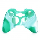Protective Silicone Cover Case for Xbox 360 Controller - Camouflage Light Green