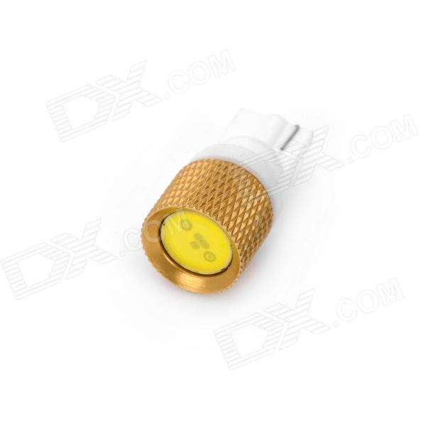 T10-1.5W 130lm 1-LED White Light Car Bulb