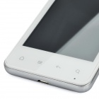 "X2 Android 4.0 WCDMA Bar Phone w/ 4.0"" Capacitive, GPS, Wi-Fi and Dual-SIM - White"