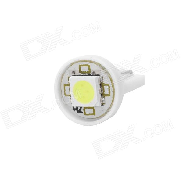 T10-1SMD 0.3W 18lm 1-LED White Light Car Bulb