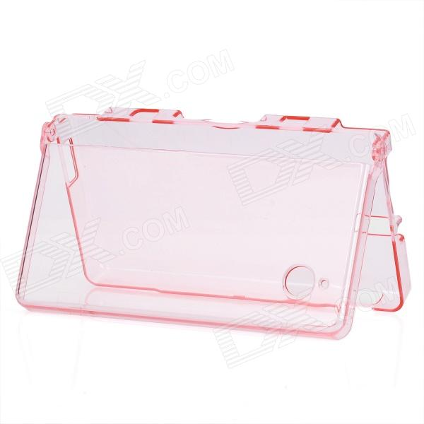 GOiGAME Protective Crystal Plastic Case for Nintendo NDSi - Transparent Red