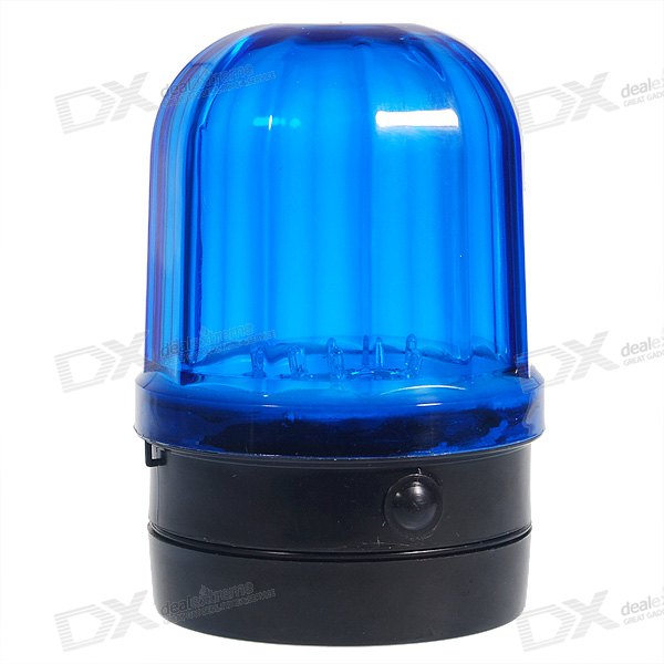 Police Detective Style Magnetic Car Roof Mount 6-LED Blue-Flash Emergency Light (2*D) police detective style magnetic car roof mount 6 led blue flash emergency light 2 d