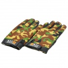 Tactical Full Finger Gloves - Army Green (Pair/Size-XL)