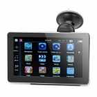 "7.0"" Resistive Screen WinCE 6.0 Car GPS Navigator with FM / 4GB Canada Map - Black"