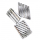 30-in-1 Multi-function Diamond Coated Grinding Burrs - Silver
