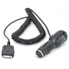 Car Cigarette Powered Charger for iPhone 4 / 4S / iPad / iPad 2 / The New iPad - Black