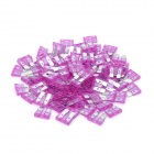 12V 3A Car Power Fuses - Purple (Size M / 100-Piece Pack)