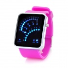 Multi-Function Retro Silicone Band Digital LED Wrist Watch - Purple (2 x CR2016)