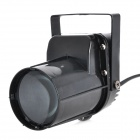 Professional 5W 940LM Stage White LED Beam Scanning Light - Black (220V)