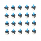 Electronic DIY Non Lock Push Button Switch (20-Piece Pack)