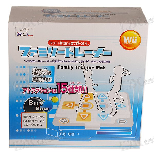 Family Trainer Dancing Mat Controller for Wii