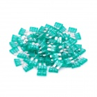 12V 30A Car Power Fuses - Green (100-Piece Pack)