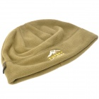Topsky Outdoor Warm Keeping Fleece Round Cap Hat - Army Green