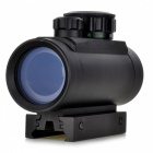 1X 30mm Red/Green Dot Sight Rifle Scope - Black
