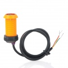 IR Infrared Obstacle Avoidance Sensor for DIY Project - Orange + Black