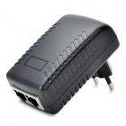 24V 1A Dual-RJ45-Port Switching Wand PoE Adapter (EU Plug)