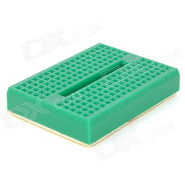 Mini Prototype Printed Circuit Board Breadboard - Green