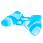 Protective Silicone Cover Case for Xbox 360 Controller - Camouflage Blue