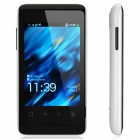 "K-Touch W619 Aliyun OS 2012 WCDMA Bar Phone w/ 3.5"" Capacitive, GPS, Wi-Fi and Dual-SIM - White"