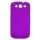 Protective Plastic Back Case for Samsung Galaxy S3 I9300 - Purple