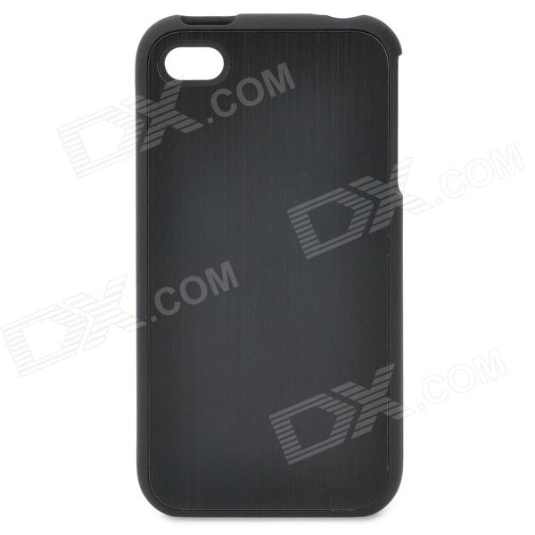 Protective Back Case for Iphone 4 / 4S - Black ultra thin protective plastic back case for iphone 4 4s black