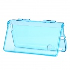 GOiGAME Protective Crystal Plastic Case for Nintendo NDSi - Transparent Blue