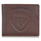 Arsenal F.C Logo Style Genuine Leather Wallet