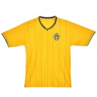 2012 European Cup Sweden National Soccer Team Jersey - Yellow (Size XXXL)