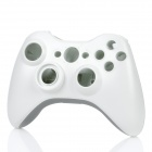 Replacement Full Housing Case w/ Buttons Set for Xbox 360 Wireless Controller - White