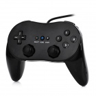 Wired Classic Gaming Controller for Wii - Black (80cm-Cable)