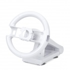 Multi Axis Racing Steering Wheel for Wii - White