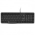 Rapoo N2400 PS/2 104-Key Wired Keyboard - Black (1.5M)