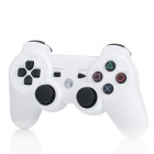 GOIGAME Rechargeable Bluetooth Wireless DoubleShock SIXAXIS Controller for PS3 - White
